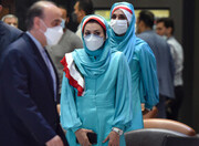 رونمایی از لباس ایرانی-اسلامی برای کاروان ایران در بازی های المپیک