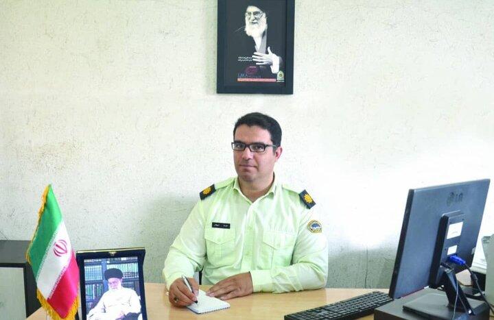 انتصاب رئیس مرکز اطلاع رسانی پلیس شرق استان تهران