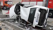 سه حادثه رانندگی مرگبار در یک روز !/ ۹ کشته و زخمی به جا ماند!