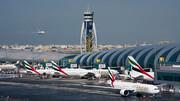 تصادف دو هواپیما در دبی