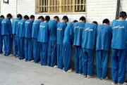 دستگیری ۵ سارق حرفه ای و ۹ متهم تحت تعقیب!