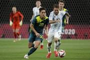 شروع ناامیدکننده آرژانتین در فوتبال المپیک