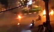 مرگ تلخ جوان ۲۰ ساله در اغتشاشات شب گذشته +فیلم