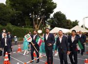 پرچمدار کاروان ایران یک استقلالی بود