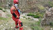 سقوط هولناک زن اسفراینی از ارتفاعات کوه / نجات یافت !