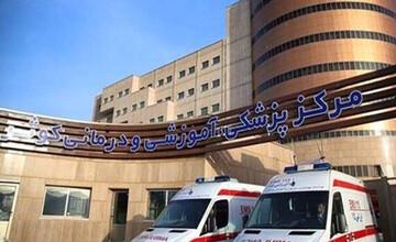 درگیری ملکی به بیمارستان کوثر رسید! / فیلم قتل در محوطه بیمارستان با سلاح سرد