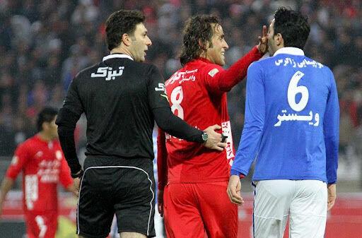 درگیری دو کاپیتان تیم ملی با هم!