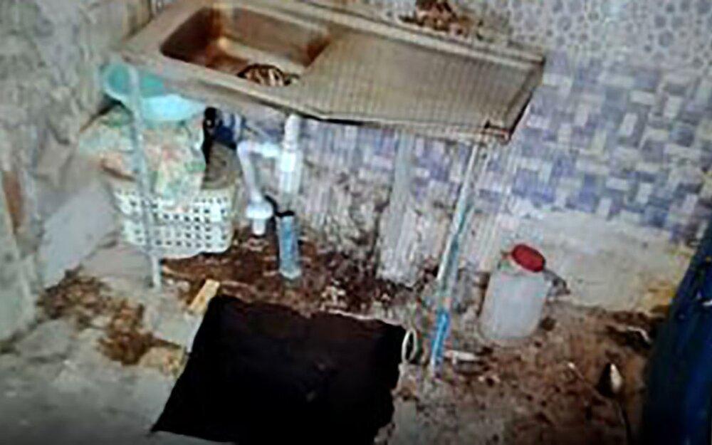 عکس /  زمین دختر 18 ساله کاشانی را در آشپزخانه بلعید