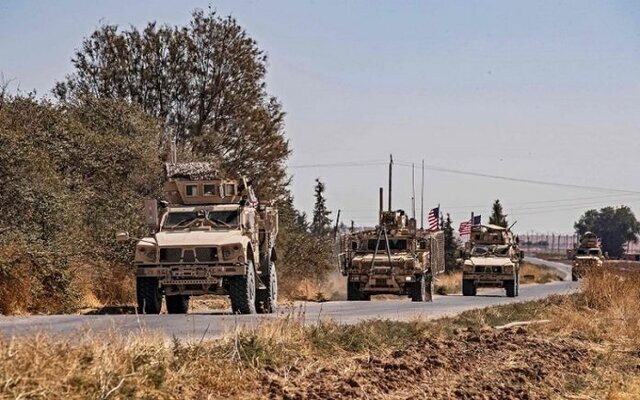 تاراج نفت سوریه توسط آمریکا
