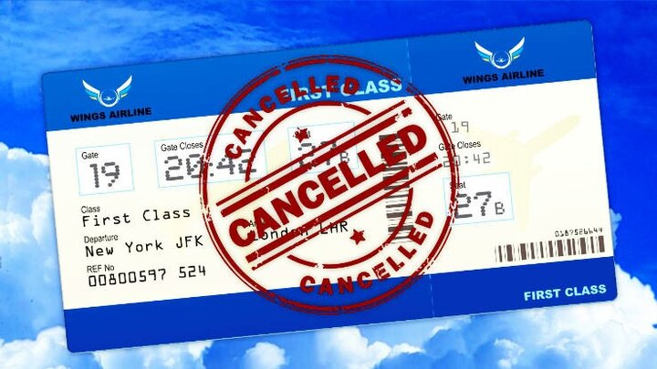 بلیطهای هواپیما را طبق چه دستورالعملی کنسل کنیم؟