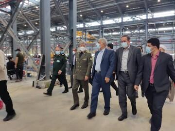 سرعت گرفتن طرح ملی صنعتی ساختمان با افتتاح کارخانه «خانههای پیش ساخته» در پاکدشت