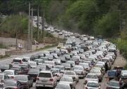 دهن کجی مردم به محدودیتهای کرونایی/ترافیک سنگین در جاده چالوس