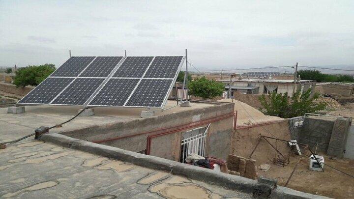تامین برق مناطق عشایری با اهدای پنلهای خورشیدی