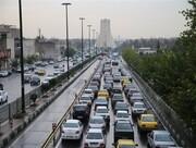 آخرین وضعیت ترافیکی معابر پایتخت امروز ۱۱ مرداد ۱۴۰۰