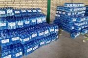 ورامینیها محموله آب معدنی به خوزستان اهداء کردند