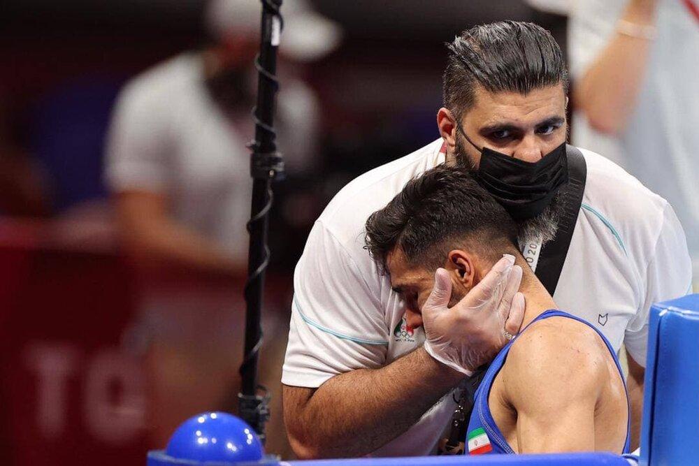 پایان کار تلخ بوکسور ایرانی در المپیک توکیو