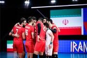 جدول گروه والیبال ایران در المپیک ۲۰۲۰