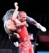 گرایی و ثبت زیباترین صحنه روز یازدهم المپیک(عکس)