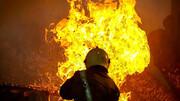 ۲ آتش سوزی مهیب در مشهد !/ جزئیات