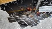 سقوط مرگبار ۲ نفر در یک پروژه ساختمانی ۲۰ طبقه/ جزئیات