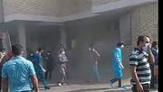 بخش کودکان بیمارستان در آتش سوخت !