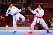 شکست حمیده عباسعلی در کاراته