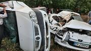 تصادف مرگبار در محور سروآباد