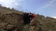 سقوط مرگبار مرد ۵۰ ساله از کوه