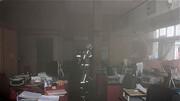 آتش سوزی هولناک در یک بانک + عکس های محل حادثه