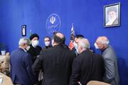 آخرین جلسه هیئت دولت با حضور رئیسی و وزیران روحانی + تصاویر