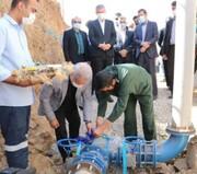 افتتاح مخزن آب شرب یک هزار متر مکعبی در رودهن
