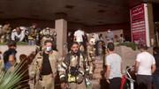 سایه مرگ بر سر ۸۰ کودک و زن و مرد در برج معروف تهران+ عکس و فیلم