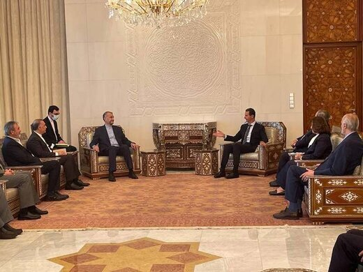 دیپلماسی بغداد تا دمشق