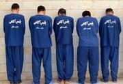 پلیس به دخمه ۹۱ تبهکار پاتک زد