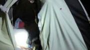 پایان زندگی یک خانواده در چادر مسافرتی !