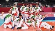 پاداش بازیکنان تیم ملی والیبال نشسته