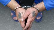 دستبند پلیس بر دستان مسافرکش زورگیر در غرب تهران