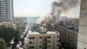 انفجار هولناک مجتمع مسکونی در مشهد