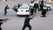 پایان عمر سارق مسلح در درگیری با پلیس