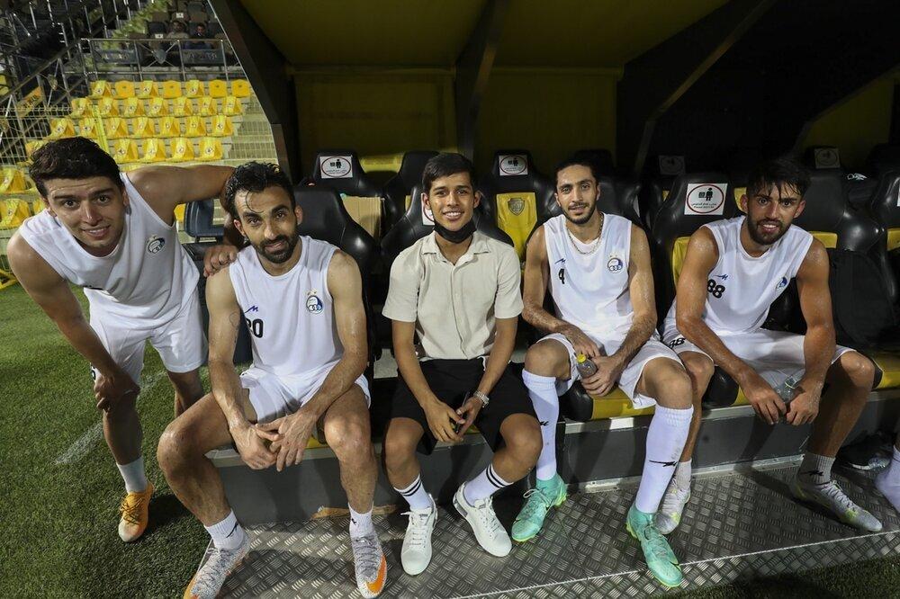آخرین تمرین استقلال پیش از دیدار برابر الهلال /گزارش تصویری