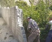 رفع تصرف حدود دو هکتار از بستر و حریم رودخانه مرجی خانی در فیروزکوه