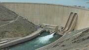 حجم آب سد زاینده رود به کمتر از ۱۷ درصد رسید