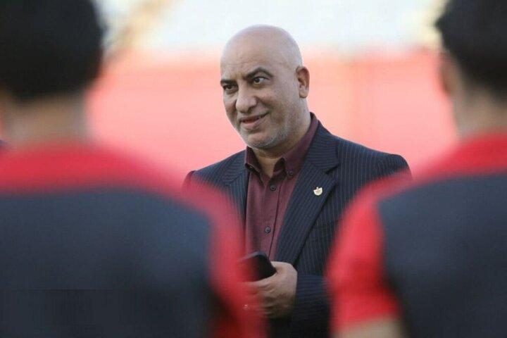 عکس و شعر مجید صدری برای بازیکنان پرسپولیس