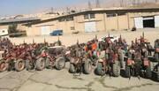 بررسی بیش از ۱۰۰ دستگاه تراکتور در طرح پلاک کوبی در فیروزکوه
