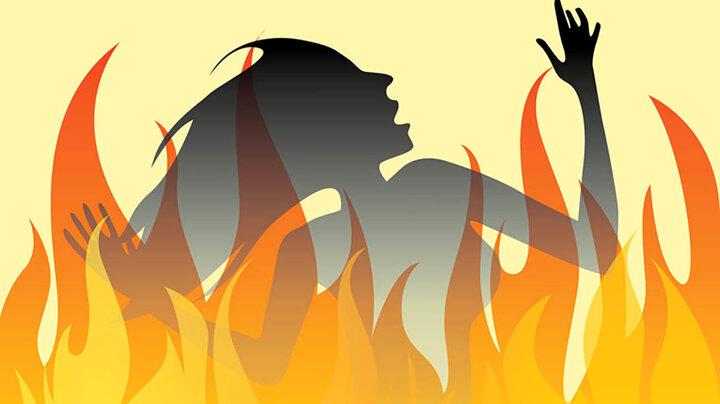 دختر ۱۲ ساله توسط دوستش به آتش کشیده شد