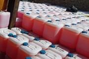 ۲۸ هزار لیتر مواد شوینده خارجی قاچاق در ملارد کشف شد