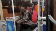 کشف جسد نشسته یک مرد روی صندلی اتوبوس + جزئیات