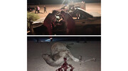 شتر مرد اصفهانی را کشت