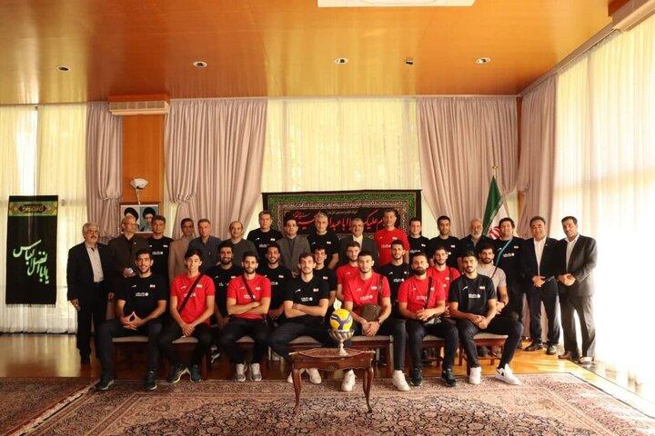 سفیر ایران در ژاپن از تیم ملی والیبال کشورمان تقدیر کرد