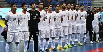 حریف بعدی تیم ملی فوتسال ایران در مرحله حذفی جام جهانی
